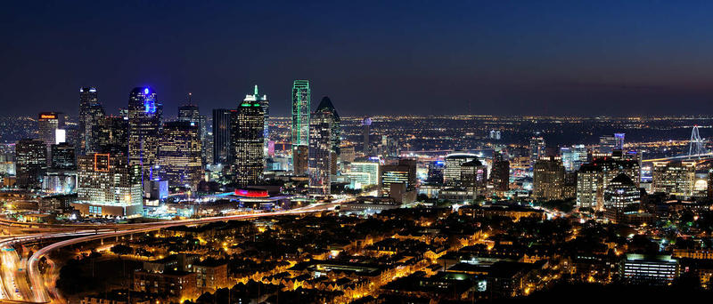 "Dallas has earned the honor of ""Best International Skyline"" in an online contest."