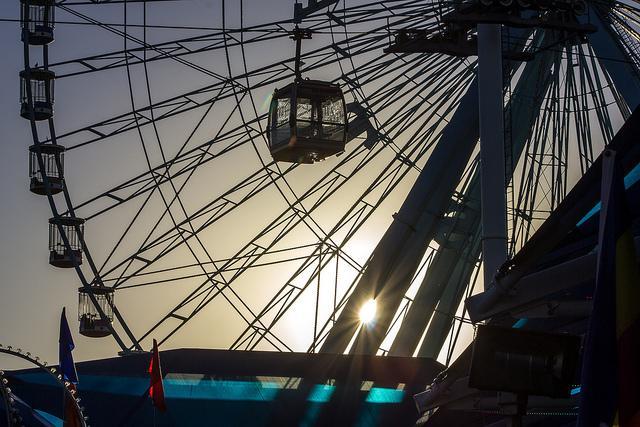 The Texas Star Ferris wheel at the State Fair in 2012.