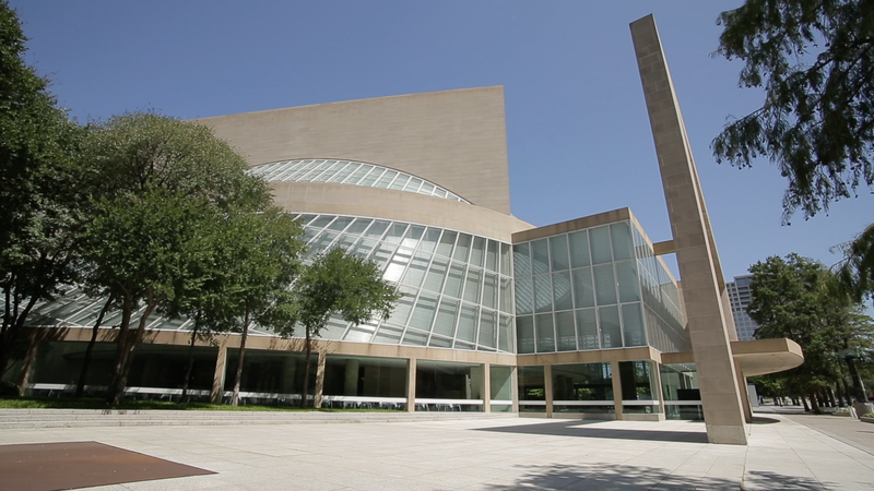 The Morton H. Meyerson Symphony Center in Dallas.
