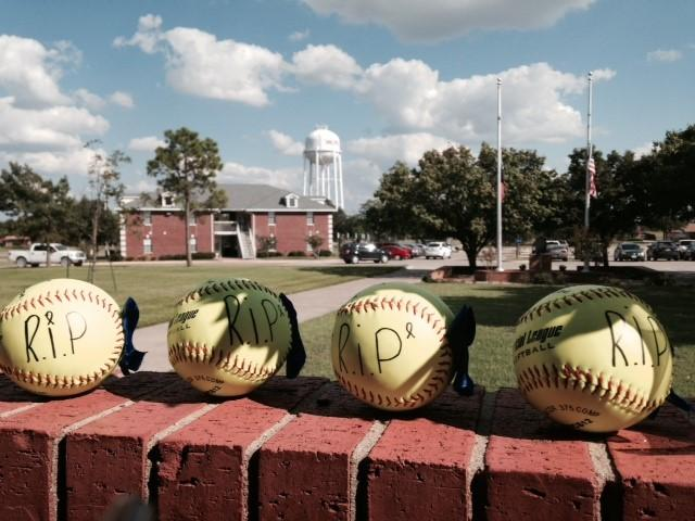 Four softball players were killed in Friday's accident.