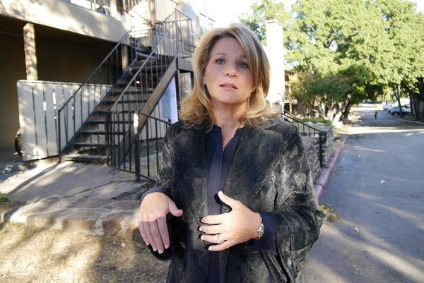 Dallas City Council member Jennifer Staubach Gates, who represents the Vickery Meadow neighborhood, has been trying to ease concerns at the apartment complex where a man with the Ebola virus was visiting before being sent to the hospital.