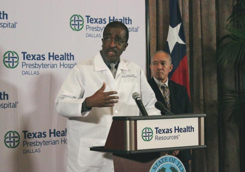 Dr. Christopher Perkins is the medical director and health authority with Dallas County Health & Human Services.