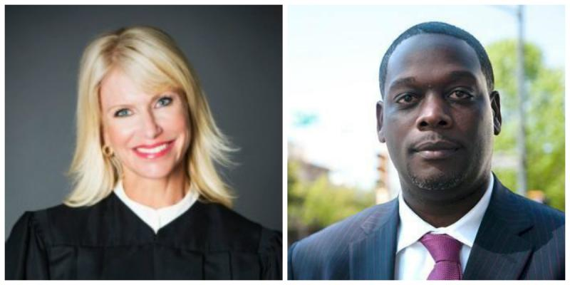 Former Judge Susan Hawk and current Dallas District Attorney Craig Watkins will face off in the Nov. election.