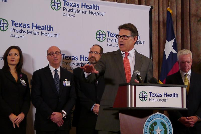 Gov. Rick Perry in Dallas in 2014.