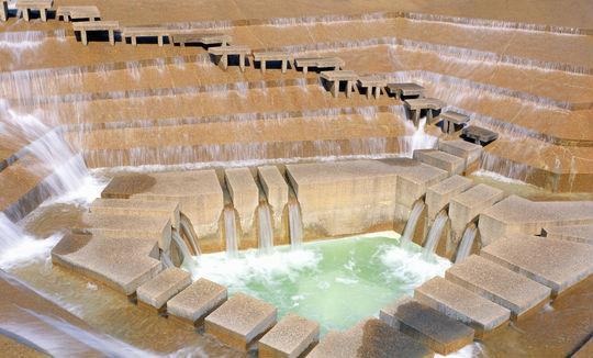 The Fort Worth Water Gardens in downtown Fort Worth marks its 40th anniversary this weekend.