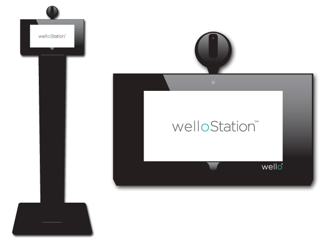Dallas-based Wello Inc will donate the fever scanners, which can check temperatures without physical contact.