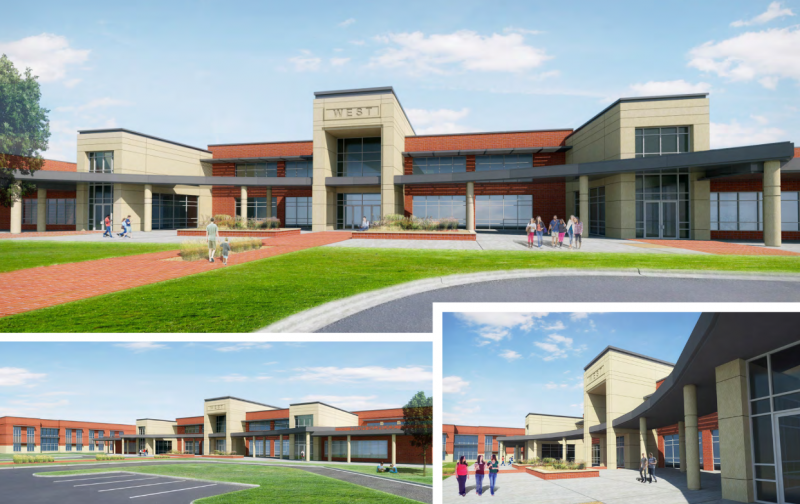 West ISD plans to build a new campus to replace middle and high schools leveled in April 2013.
