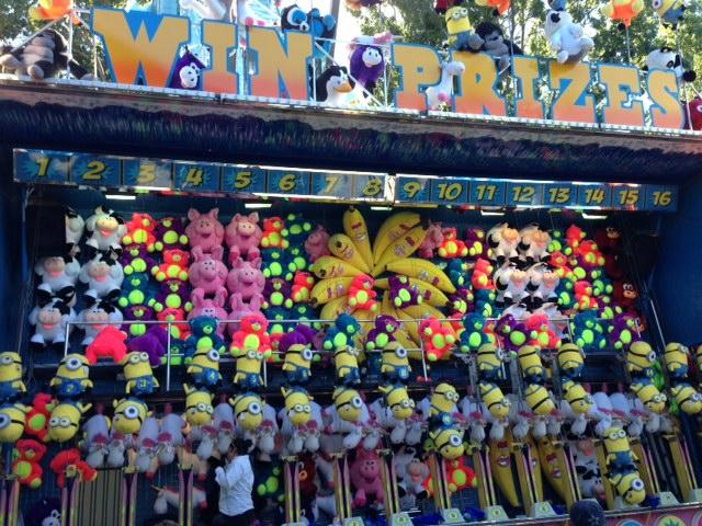 There are 72 games at the State Fair of Texas. All of them boast giant, colorful, plush prizes.