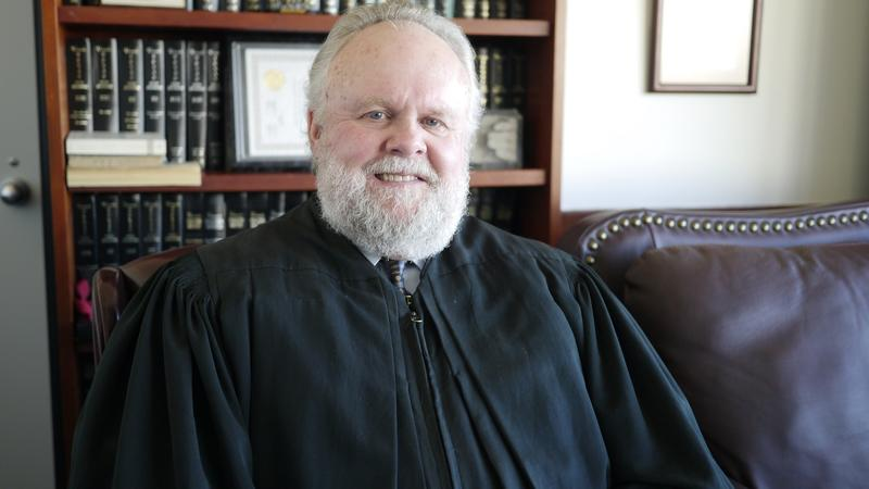 Judge Brent A. Carr, County Criminal Court #9, started the Veterans Court Diversion Program five years ago.