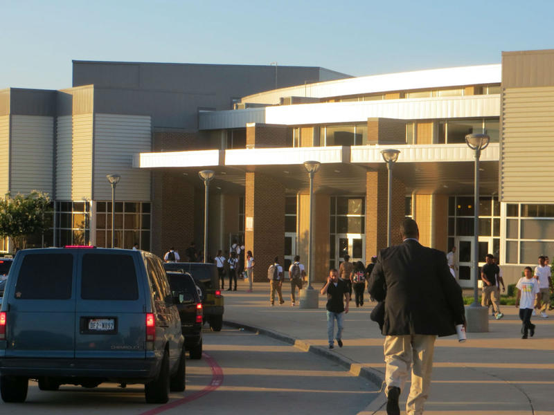 A Duncanville High School teacher has resigned over a controversial tweet.
