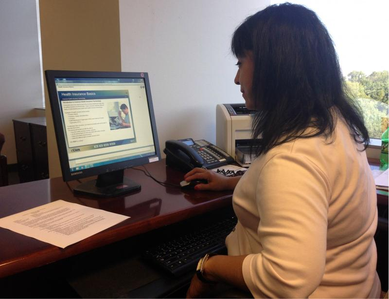 Sandra Luz is the lead health care navigator at the Community Council of Greater Dallas.