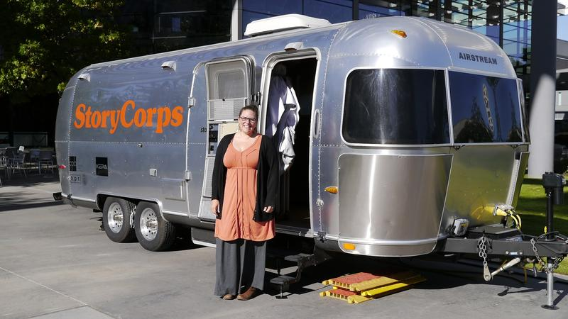 Emily Janssen of StoryCorps takes us inside the MobileBooth.