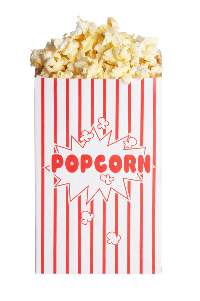 20 years ago: Bag of popcorn at the movies, 5 cups.  270 calories.