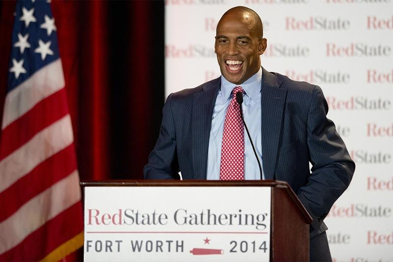 State Rep. Scott Turner, R-Frisco, spoke at the RedState Gathering in Fort Worth in August.