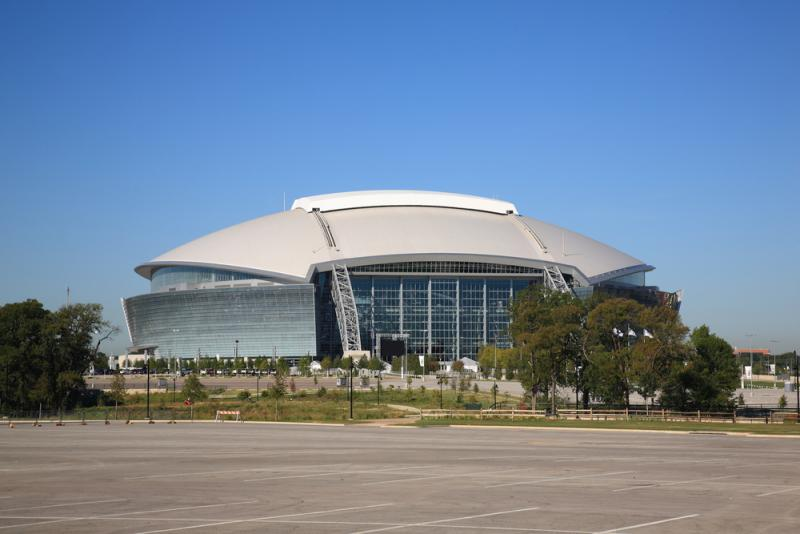 Arlington is home to AT&T Stadium among other tourist attractions.