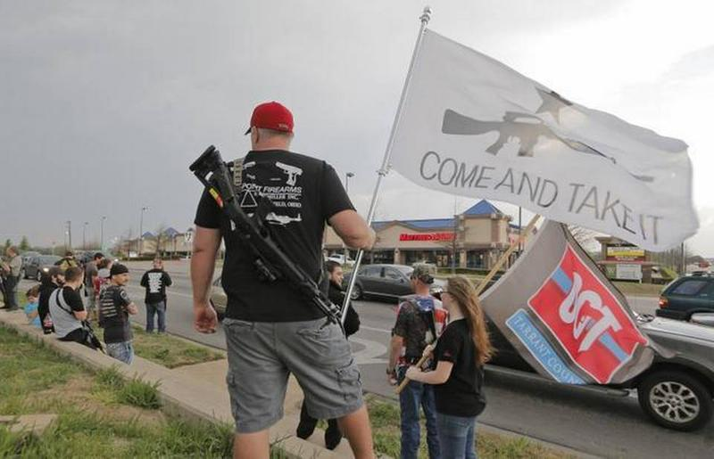 Open carry gun supporters voiced their support over the summer across North Texas.