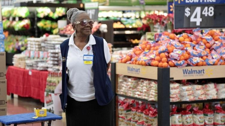 In 2014, KERA met Shirley Martin, who then at age 73, was still working as a Walmart greeter five days a week because retirement was out of reach.