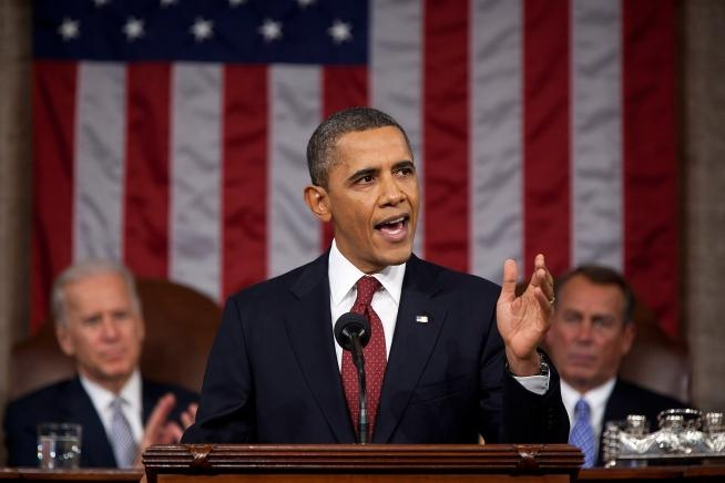 President Obama in an earlier State of the Union address.