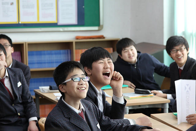 South Korean students watch YouTube to learn about regional accents. South Korean kids are known for high marks, but also for burnout- the teen suicide rate is one of the world's highest.
