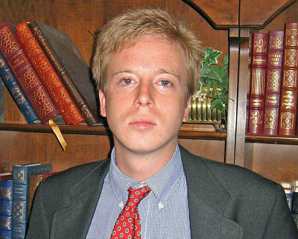 Barrett Brown, in an earlier picture, was sentenced to five years in prison Thursday.
