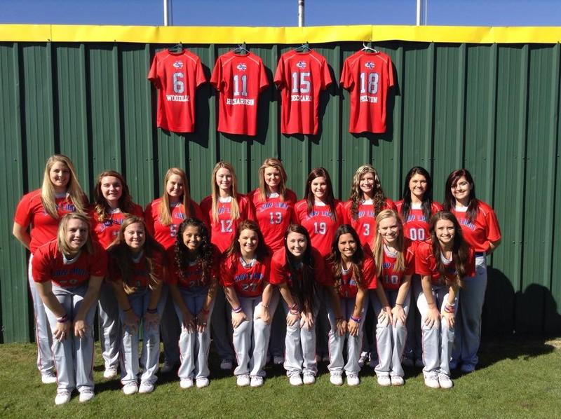 The North Central Texas College softball team in Gainesville honors four teammates killed in a car accident.