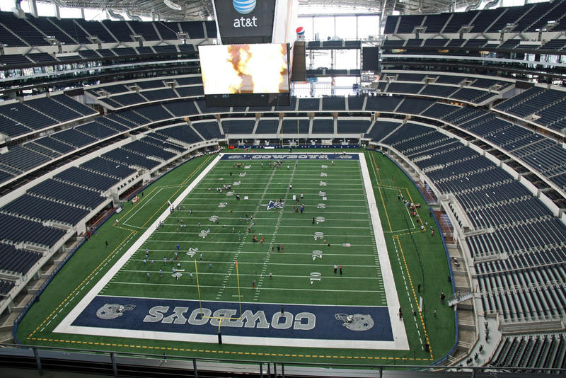 Last night's playoff game at AT&T Stadium in Arlington resulted in a win for the Cowboys, their first in five yeras.