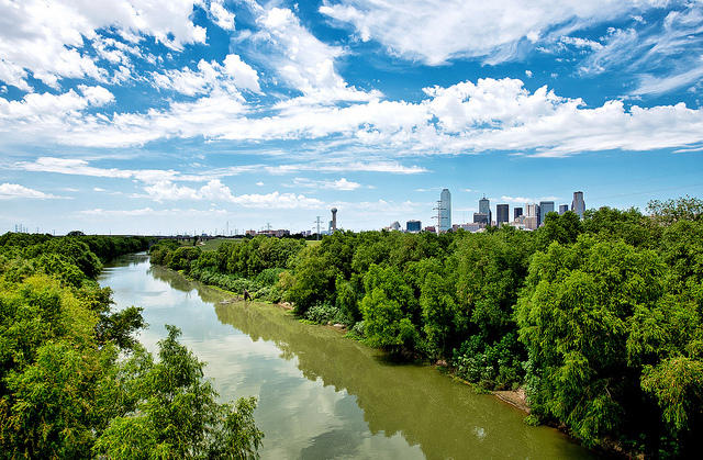 The Trinity River plays an important role in Dallas history.