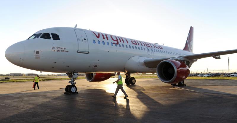 Virgin America moved to Dallas Love Field in fall 2014.