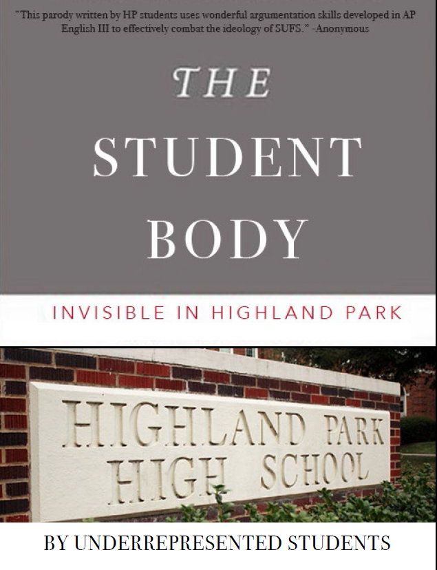 """Parody of the cover to the book """"The Working Poor"""" that Highland Park students created after some parents argued that it was inappropriate for use in the classroom."""
