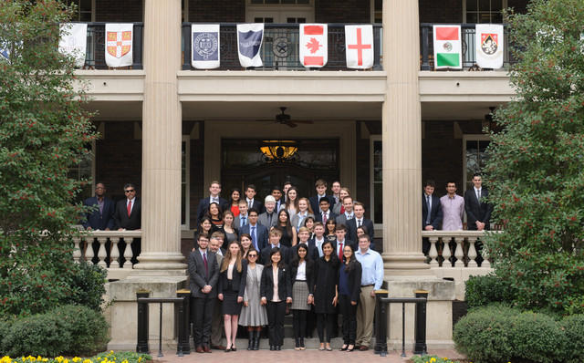 Six high school and college teams competed in the Old Parkland Debate Tournament.