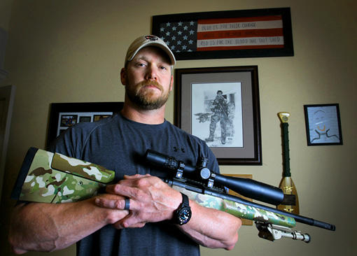 "Chris Kyle is the former Navy SEAL depicted in the Oscar-nominated movie ""American Sniper."""