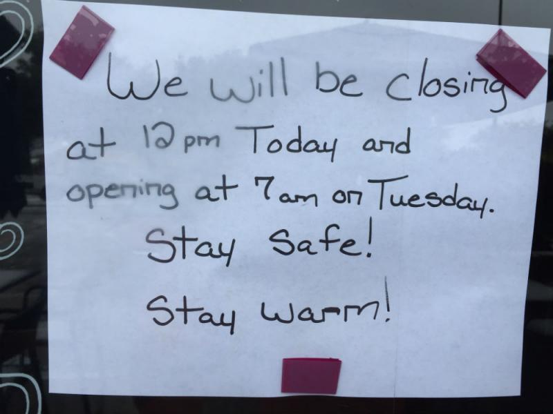 A sad sign for coffee lovers. A Starbucks in Plano closed early Monday, deciding to re-open Tuesday morning.