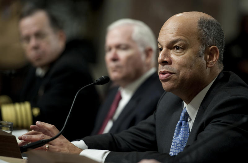 Homeland Security Secretary Jeh Johnson says the agency will stop work on a program designed to protect immigrants from deportation, in accordance with Monday's ruling.