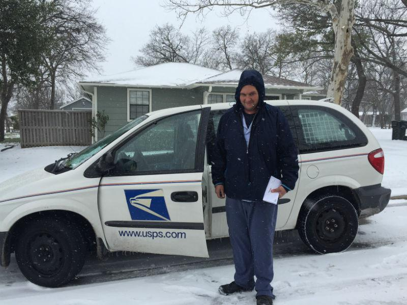 """You gotta do what you gotta do,"" said Michael Owen, a mailman who just turned 40. ""I've lost a lot of weight on this job. About 60 pounds."""