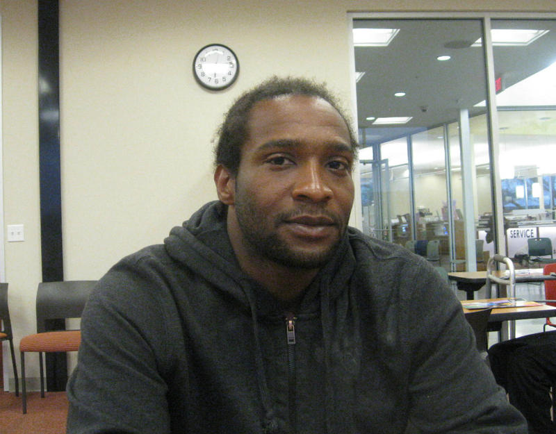 Ronald McCullough is 24, dropped out of high school, dropped out of the last GED course hie signed up for, and served time in jail. But he's registering for the GED again because without it or a high school diploma, he can't find work