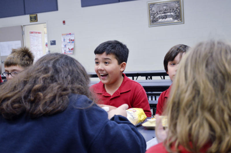 Jude Cobler is a student at All Saints Catholic School in Far North Dallas.