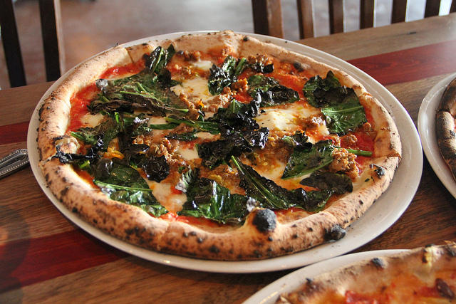Nancy Nichols says letting go of Cane Rosso pizza is the hardest part.