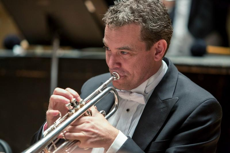 DSO principal trumpet player Ryan Anthony is the musician behind 'Cancer Blows,' which runs today through Wednesday.
