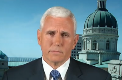 "Indiana Gov. Mike Pence appeared on ABC's ""This Week"" on Sunday."