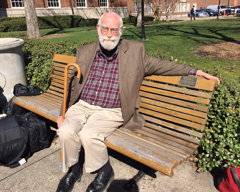 "Retired SMU English Professor Kenneth Shields was among those who traveled to Montgomery, Alabama in 1965, a couple of weeks after ""Bloody Sunday."""