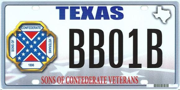 The U.S. Supreme Court is set to hear a case today involving Texas license plates and the Confederate flag.