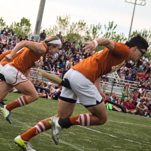 UT Austin won the Quidditch World Cup over the weekend.