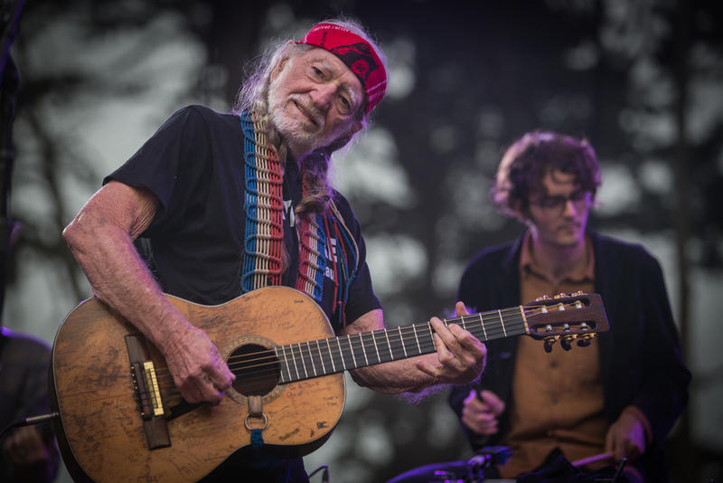 Willie Nelson performed in California in 2013.