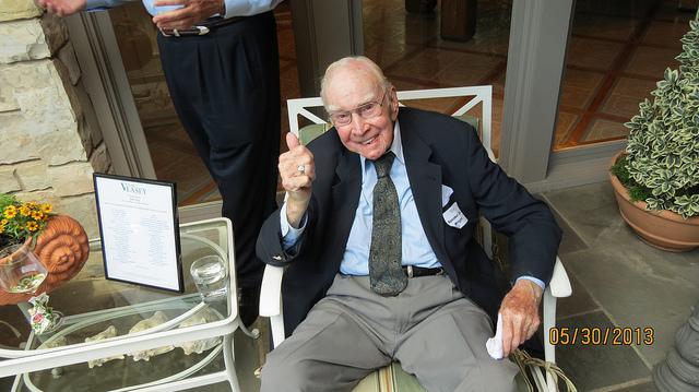 Former US House Speaker Jim Wright of Fort Worth