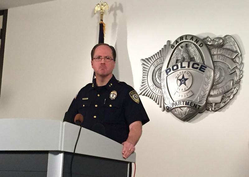 Garland Police Chief Mitch Bates.