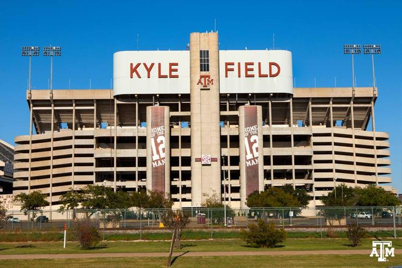 The west side of Kyle Field was imploded last December.