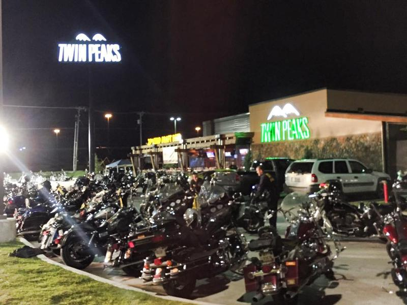Nine motorcycle gang members were killed Sunday at the Twin Peaks restaurant in Waco.