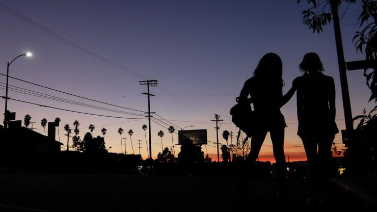 The L.A. odyssey 'Tangerine' by Sean Baker was shot exclusively on iPhone and opens the Oak Cliff Film Festival tonight at the Texas Theatre.
