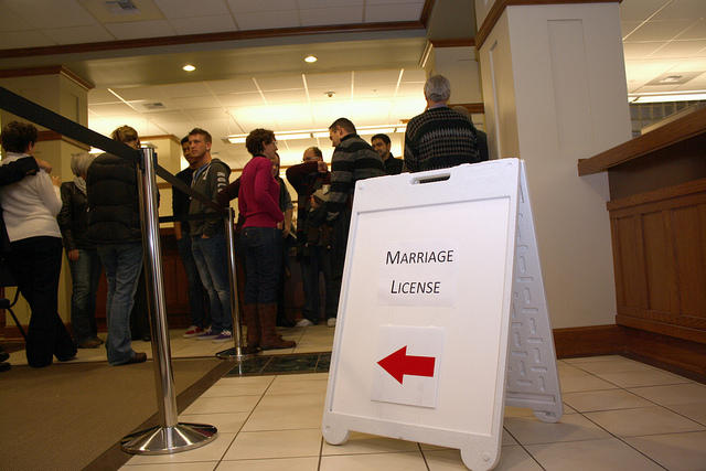 Some Texas counties still aren't issuing marriage licenses. Some are waiting for more guidance while others cite religious beliefs for not issuing certificates.