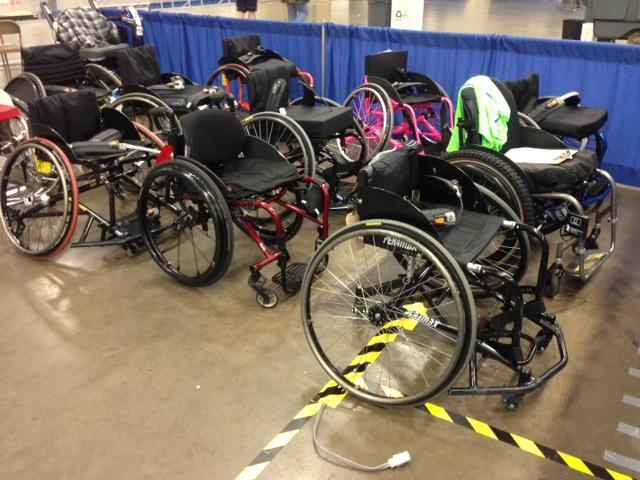 Events at the National Veterans Wheelchair Games range from rugby to air rifle.